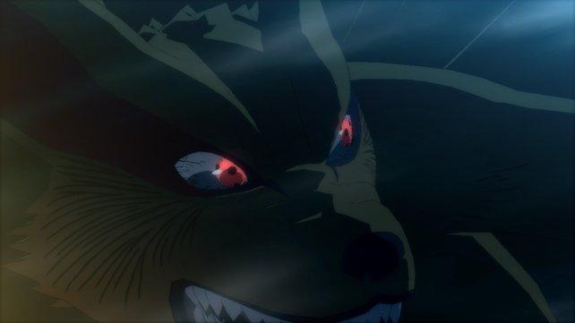Der neunschwänzige Fuchs. Narutos ständiger Begleiter.