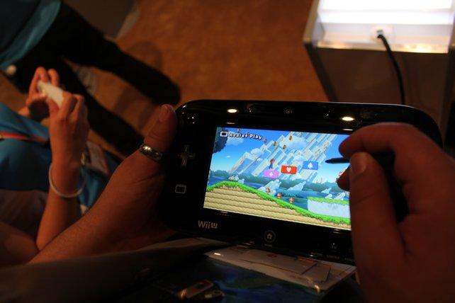 Probespiel von Onkel Jo mit New Super Mario Bros. U.