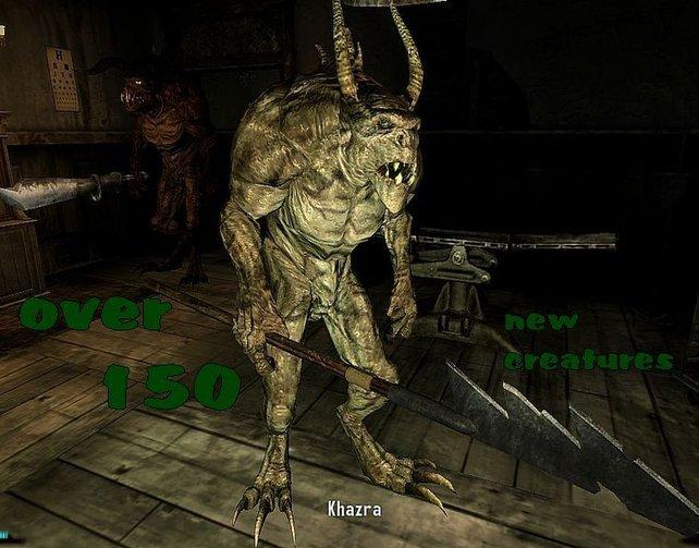"Neue Gegner en masse: ""Monster Mod"" hält, was der Name verspricht."