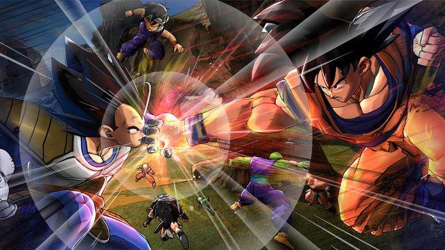 Wenn Son Goku und Co. aufeinander losgehen, fliegen die Fetzen.