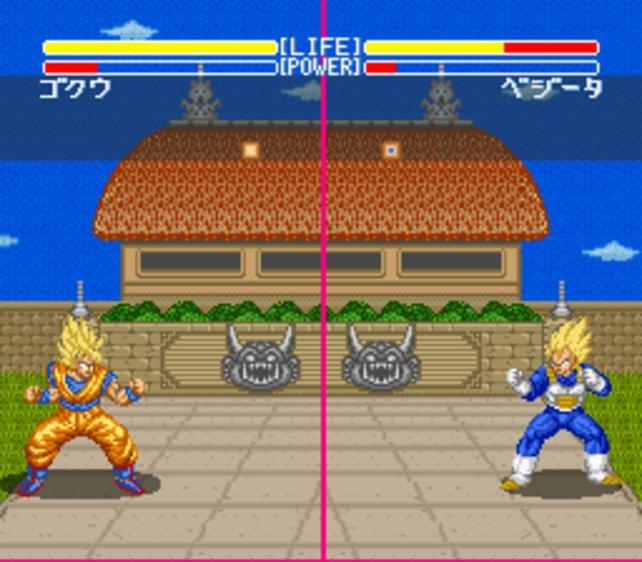 Eines von zahllosen Dragon-Ball-Z-Kampfspielen aus den frühen 90ern: Dragon Ball Z: Super Butoden (SNES, 1993).