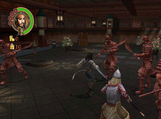 Sogar gegen Samurais tretet ihr an