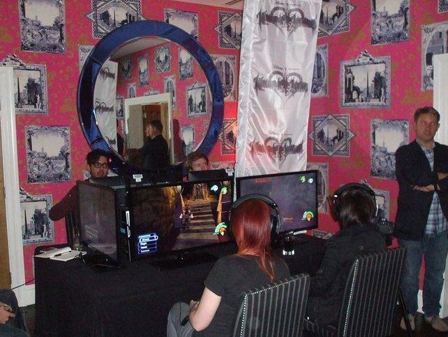 In London lädt Square Enix zum Probespiel.