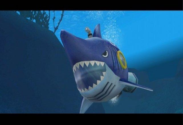 Auch für die Reparatur der Shark Submerge müsst ihr erst fleißig Teile suchen.