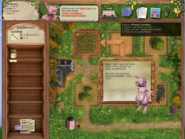 Das knuddelige Schweinchen ist hilfreicher Ratgeber und lustige Einsteigerhilfe.