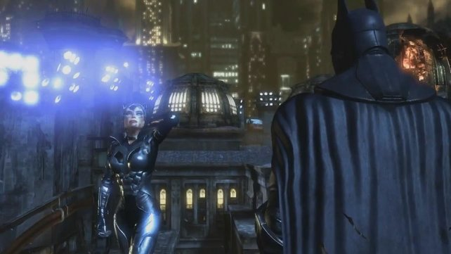 Batman und Catwoman haben neue Kostüme.