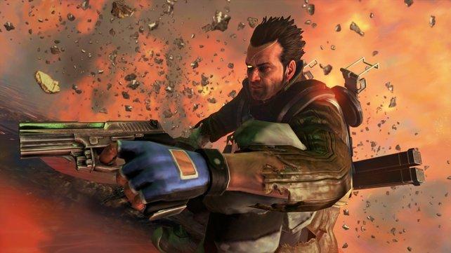 Dieses Bild zeigt Bryce in Aktion.