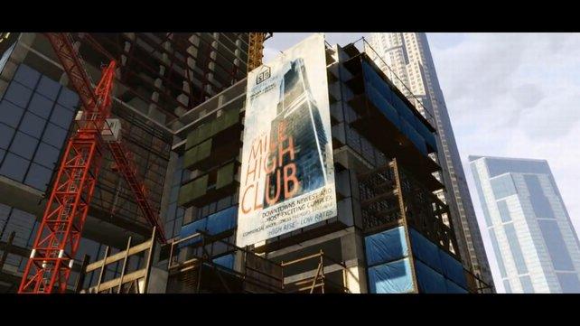 """Der """"Mile High Club"""" könnte Wohnungen für die Gesellschafts-Elite bieten."""