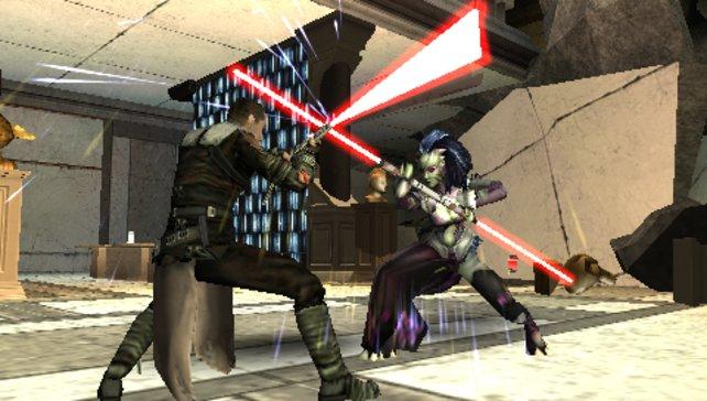 Die Kämpfe gegen die Jedis sind optisch spektakulär