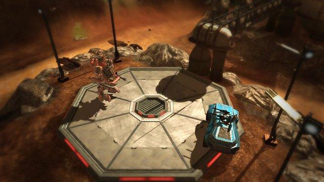 Battleground präsentiert serienuntypisch schnelle Vehikel-Duelle.