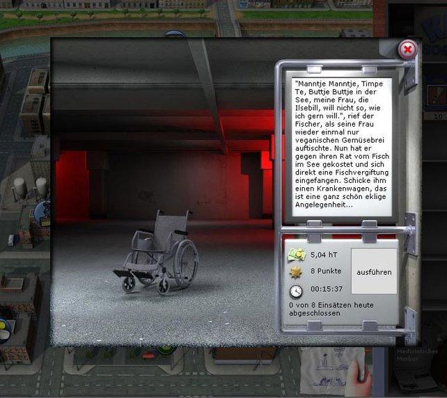 Die Krankenwagen-Quests sind immer wieder zum Schmunzeln.