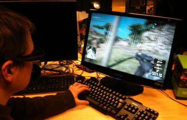 So sieht's aus: Battlefield - Bad Company 2 in 3D. (Foto: EA Blog)