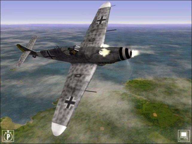 Ein Jäger der deutschen Luftwaffe