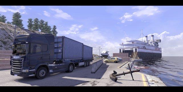 Technisch ordentlich und spielerisch solide: Scania Truck Simulator.