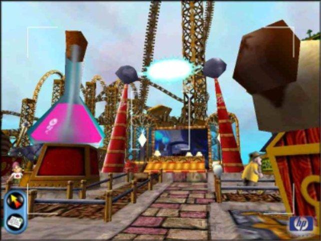 Ein nettes Bild aus Theme Park World