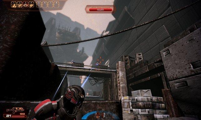 Deckung spielt erneut eine wichtige Rolle. Blindes Drauflosstürmen wird hingegen mit Game Over belohnt.