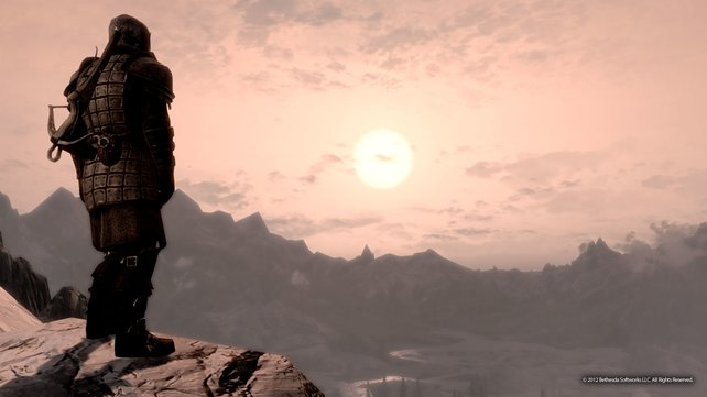 Die Creation Engine macht die riesigen Berglandschaften Skyrims möglich.