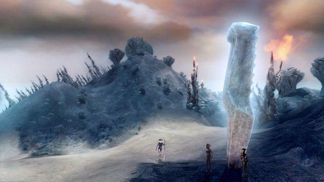 Wenn ihr an den Totems Dörfer erbaut, schaltet ihr magische Fähigkeiten frei.