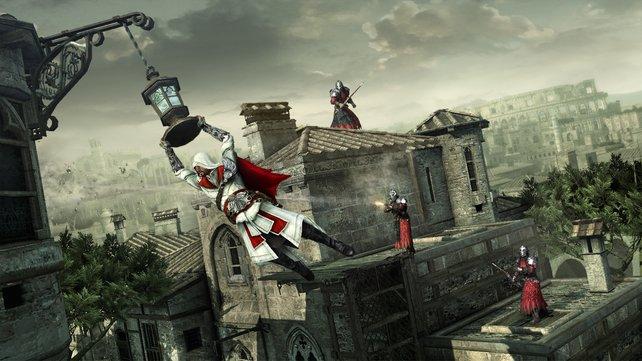 Schnell und agil - so kennen wir Ezio.