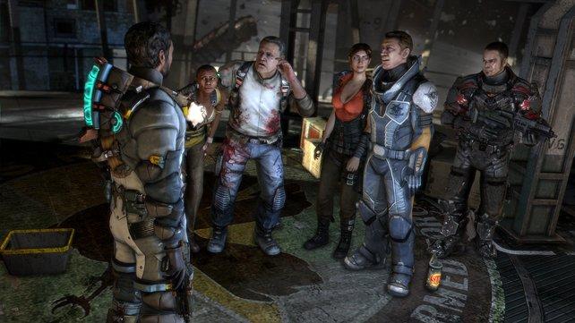 Grafisch ist Dead Space 3 über jeden Zweifel erhaben.
