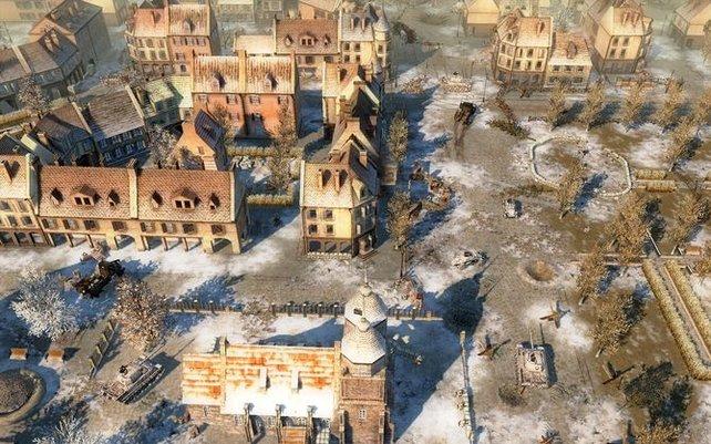 Noch stehen einige Häuser.