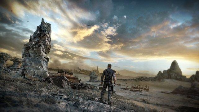 Die Welt am Abgrund. Hier kämpft Mad Max ums Überleben.