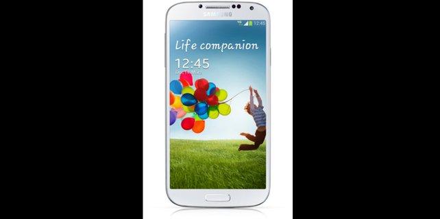 Neuer Spitzenreiter bei den Android-Smartphones: Das Samsung Galaxy S4.