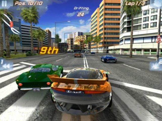 Fast & Furious Five verfügt über sehr attraktive Strecken.