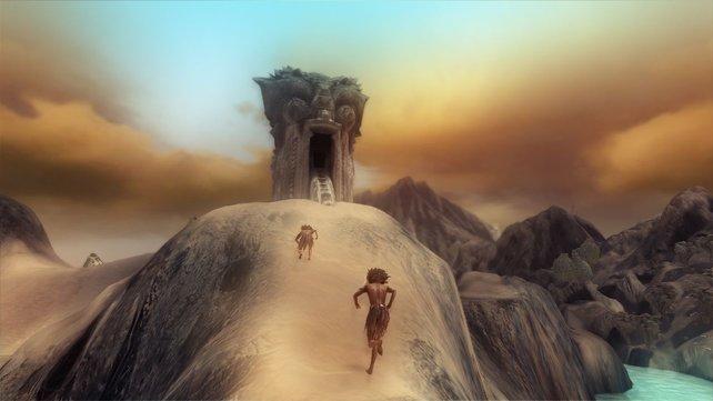 Wenn ihr euer Volk durch diese Tore führt, kommt ihr in die nächste Welt.