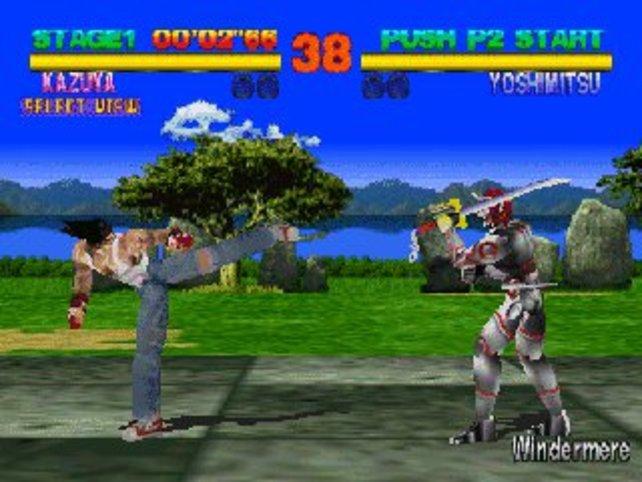 Eine Augenweide ist das Ur-Tekken aus 2001 heute nicht mehr.
