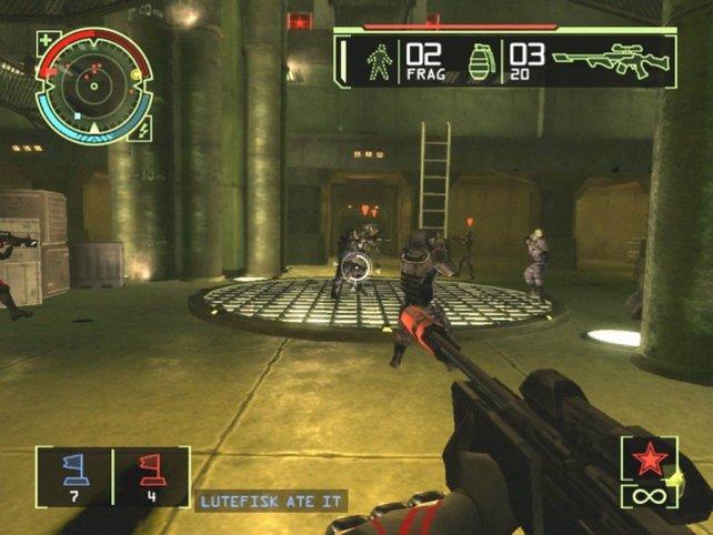 Im Multiplayer tummelt ihr euch via Lan oder Xboxlive. Massig Modi halten euch bei Laune.