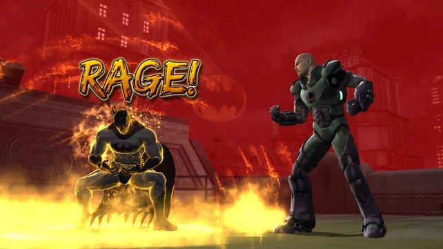 Batman bringt sich in Rage.