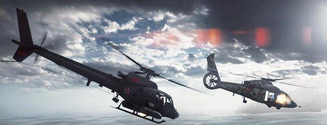 Battlefield 4: Hitzige Luftkämpfe und bombastische Explosionen im neuen Video
