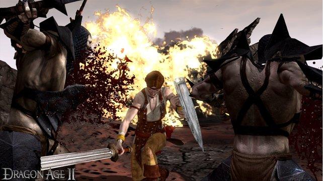 Eine friedliche Lösung gibt es bei Dragon Age 2 nicht.