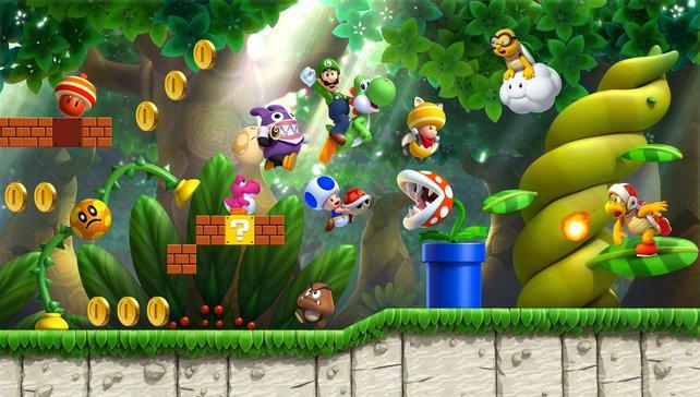 Kleiner Bruder ganz groß. Luigi bekommt ein eigenes Spiel.
