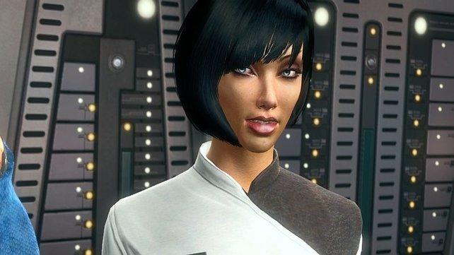 Eine wichtige Figur ist T'Mar, Spocks gute Freundin aus Kindertagen.