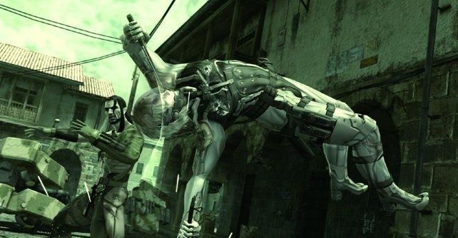 Hier seht ihr eine der Cutscenes: Raiden kämpf gegen Vamp.