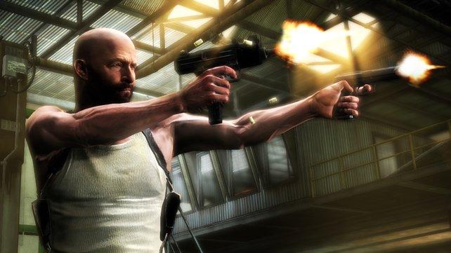 Bei seinem dritten Auftritt trägt Max Payne eine Glatze.
