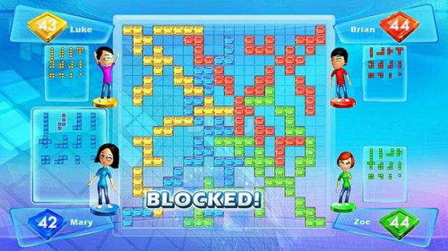 Das Blocken der Gegner wird euphorisch kommentiert.