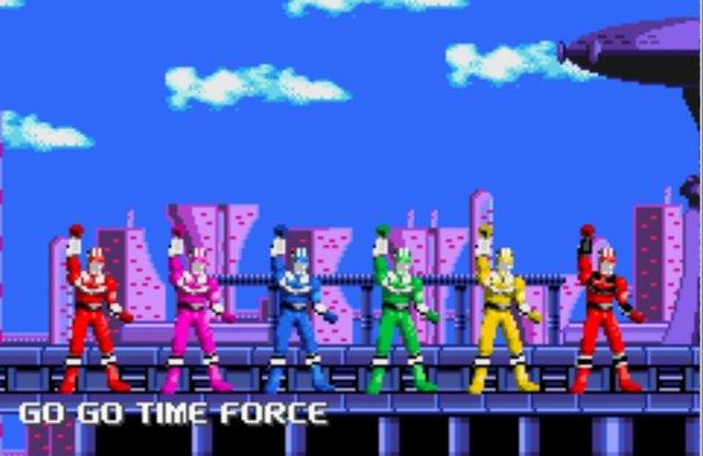 Die fünf Ranger