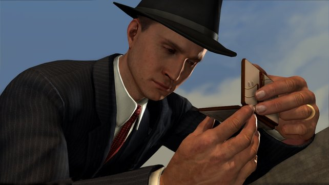 Cole Phelps ermittelt in L.A. Noire.