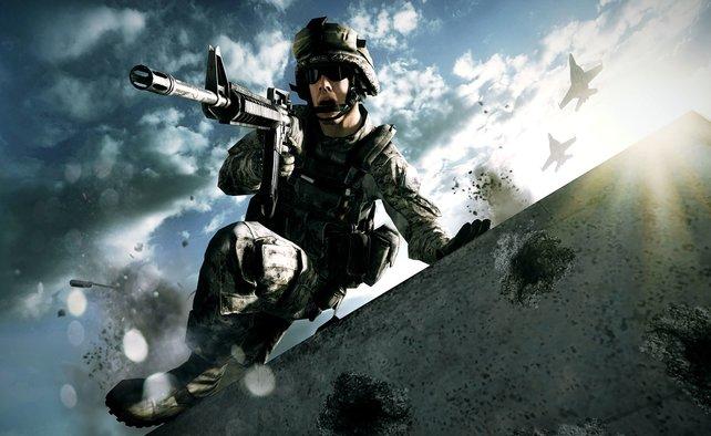 Battlefield 3 zaubert herrliche Lichteffekte auf die Mattscheibe.