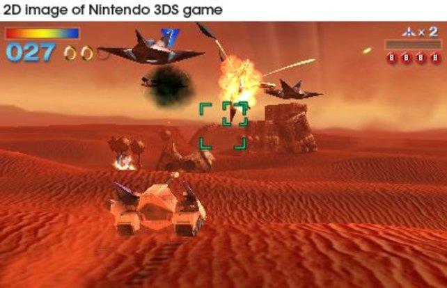 Wegen der Regionalsperre laufen keine importieren Spiele auf dem 3DS. Starfox 64 3D (Bild) erscheint auch hierzulande.