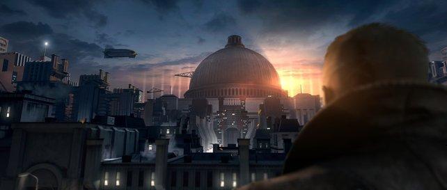 Die ersten spielbaren Szenen führen in das Forschungsinstitut Nautica inmitten von London.