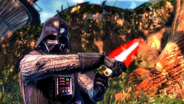 Einmal Darth Vader sein - der Prolog des Spieles macht es möglich.