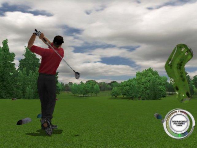 Tiger Woods beim Abschlag