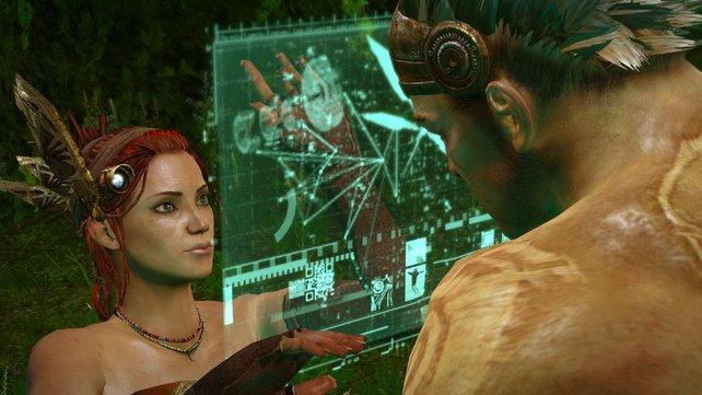 Klingt komisch, ist aber so: Ihr seid der Affenmann und der jungen Dame im Bild hörig.