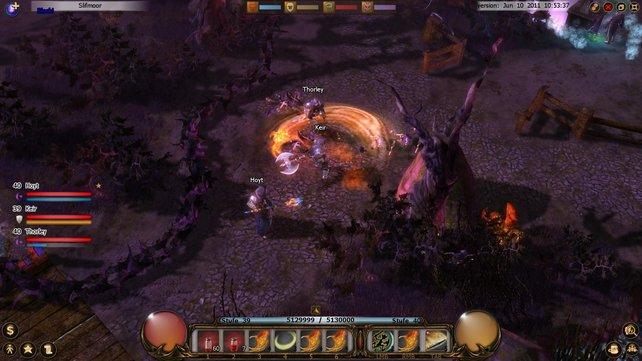 Drakensang Online orientiert sich an der Spielmechanik von Diablo.