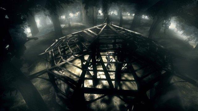Aus dem Central Park ist ein düsterer Hexenkessel geworden.