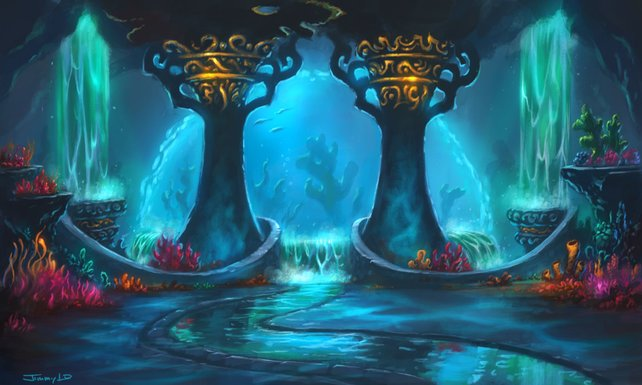 In Cataclysm werdet ihr auch Abenteuer unter dem Meeresspiegel bestehen müssen.